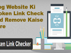 Blog Website Ki Broken Link Check And Remove Kaise Kare
