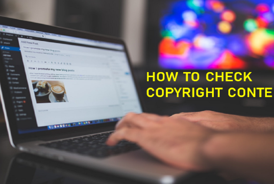 Copyright Content Kaise Check Kare