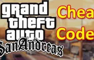 GTA San Andreas Cheat