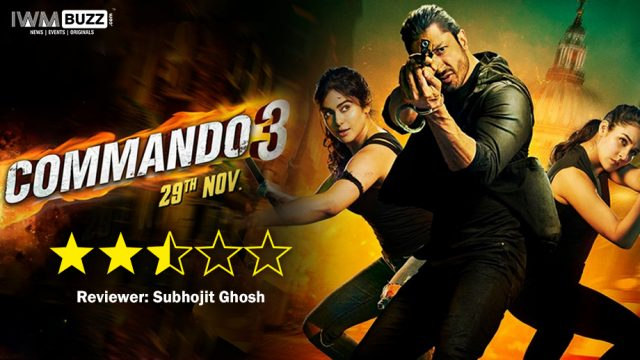 Commando 3 Full Movie Leaked Online by Tamilrockers